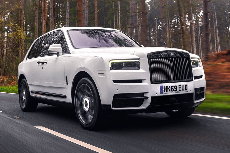 Can a Rolls-Royce SUV be luxury?